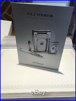 S. T. Dupont Taj Mahal Limited Edition 5 Piece Lighter & Pen Set. Very Rare