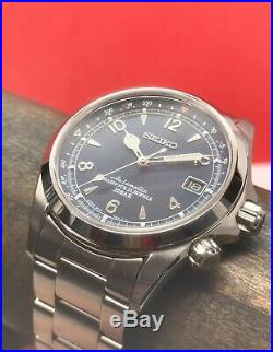 Seiko U. S. Limited Edition Alpinist SPB089 1959 Pieces 40mm Automatic Blue Dial