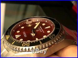Seiko Zimbe Red Shogun SPB099J Thailand 500 piece Ltd Edn Free Shipping