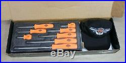 Snap-On 8 Piece Limited Edition Screwdriver Set With Harley-Davidson Hat, 95th Ann
