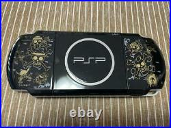 Sony Console PSP One Piece Romance Dawn Mugiwara Limited Edition USED