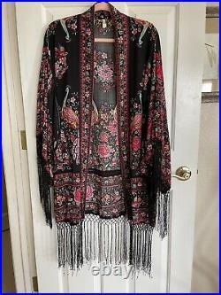 Spell & The Gypsy Hotel Paradiso Rare Kimono Limited Edition New