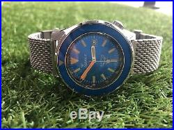 Squale 60 ATMOS Blue Puro Limited Edition (No. Xx of 160 pieces)