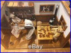 Steiff Teddy Bear Workshop Limited edition limited to # 16 of 1902 pieces made