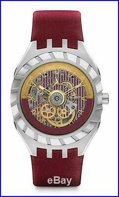 Swatch Flymagic Limited Edition 500 pieces worldwide fly magic red watch