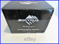 TWH BUCYRUS 8750 Dragline Bucket BLACK 1/50 NEW AND VERY RARE GREAT PIECE