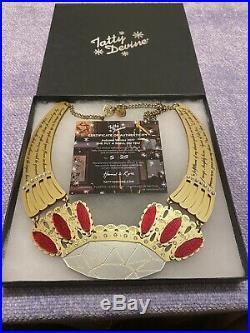 Tatty Devine Secret Spell Statement Necklace Brand New Limited Edition 5/25