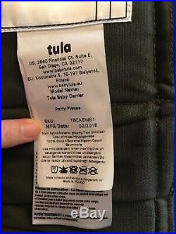 Tula Baby Carrier Limited Edition'Party Pieces' with original packaging