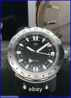 UTS Munchen 1000m GMT Limited Edition Diver 200 Pieces Swiss ETA 2893 Automatic
