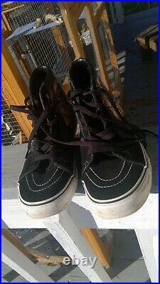 Vans Sk8 Hi Iron Maiden PIECE OF MIND US Mens 10.5 Sneakers HEAVY METAL