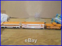 Vintage Tennessee Volunteers 3 Piece 1998 Nc Die Cast Big Orange Express Train