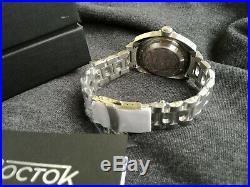 Vostok Amphibia 1967 Blue face Diver Watch Rare 200m Limited Edition 500 pieces