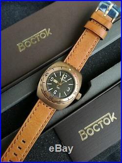 Vostok Amphibia 1967 Bronze Diver Watch Rare 200m Limited Edition 200 pieces