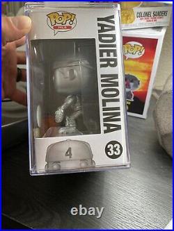 Yadier Molina Funko Pop Platinum limited Edition 400 Pieces Exclusive