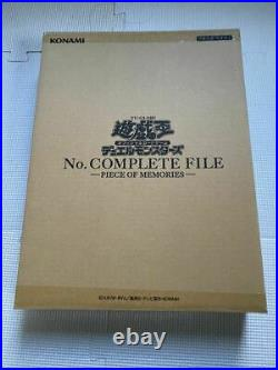 Yu-Gi-Oh Duel Monsters No. Complete File -Piece Of Memories- Limited Japanese JP
