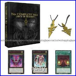 Yugioh No. Complete File Piece of Memories Set Binder & Cards OCG Duel Monsters