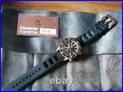 Zelos Abyss 3 METEORITE Bronze 3000m Automatic MOVEMENT-EX-DISPLAY Piece
