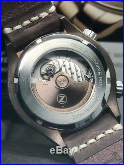 Zelos Helmsman 1 Bronze Limited Edition Green Dial 43mm Automatic 50 Pieces