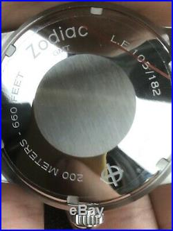 Zodiac Super Seawolf GMT Limited Edition Hodinkee 182 Pieces